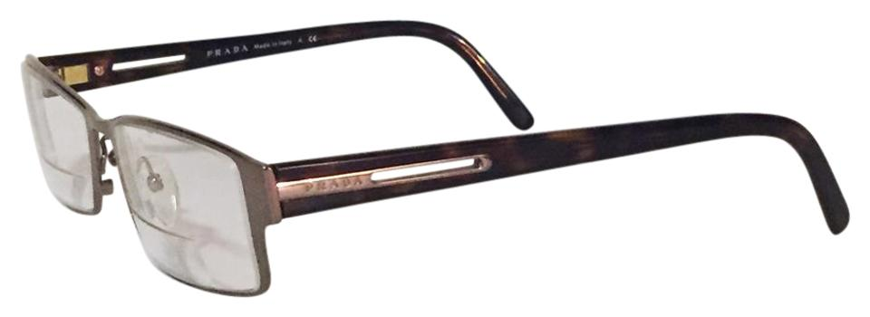 Prada Eyeglass Frames with Case Vintage Signature Sunglasses - Tradesy