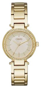 Chaps Chaps Women's Alanis Gold-Tone Three-Hand Watch CHP3010