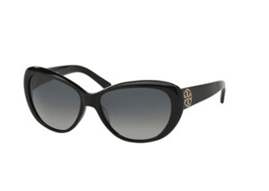 56ba1237d403 Tory Burch NWT TORY BURCH TY7005 501/11 FASHION SUNGLASSES BLACK GOLD LOGO  W BAG