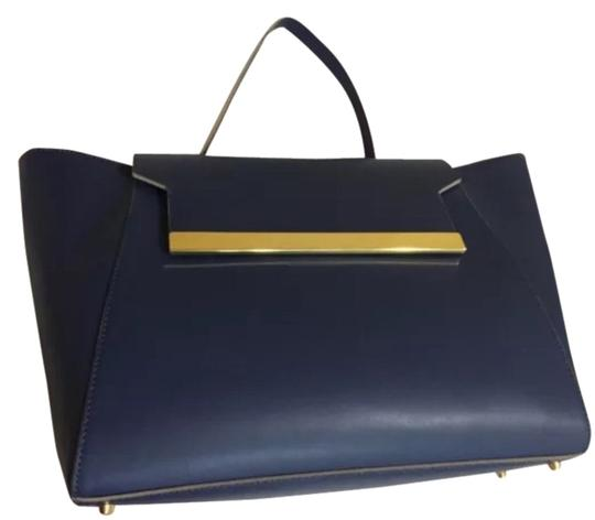 Preload https://item1.tradesy.com/images/alberta-di-canio-tote-blue-leather-satchel-2098350-0-0.jpg?width=440&height=440