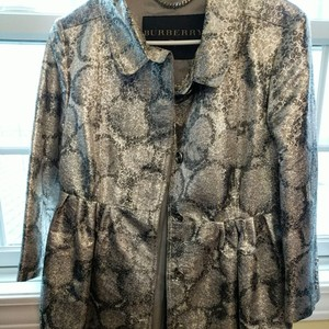 Burberry Silver Jacket