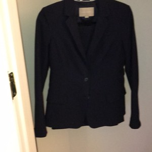 Banana Republic wool suit with skirt