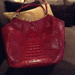 Brahmin Leather Luxurious. Hobo Bag