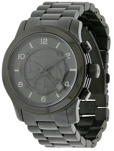 Michael Kors Michael Kors Black Ion Plated Mens Watch MK8157