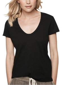 James Perse Casual T T Shirt Black
