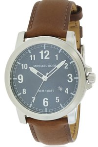 Michael Kors Michael Kors Paxton Leather Mens Watch MK8501