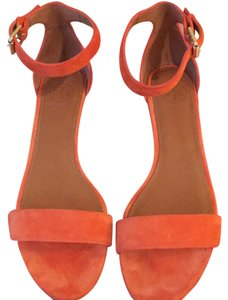 Tory Burch orange (poppy red officially but they are orange) Sandals
