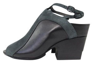 Alexander Wang Black/Grey Wedges
