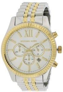 Michael Kors Michael Kors Lexington Two-Tone Chronograph Mens Watch MK8344