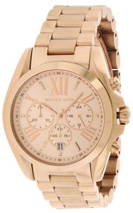 Michael Kors Michael Kors Rose Gold-Tone Chronograph Mens Watch MK5503