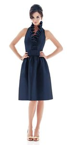 Alfred Sung Midnight Blue Style D468 Dress