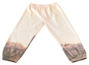 BCBGeneration peach as you can see in the picture print Leggings