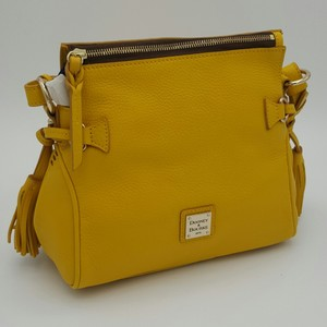 Dooney & Bourke Samba Leather & Satchel in SUNFLOWER