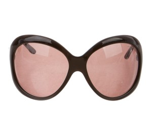 Tom Ford Brown Tom Ford Anna oversize sunglasses