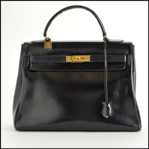 Hermès Vintage Tote in Black