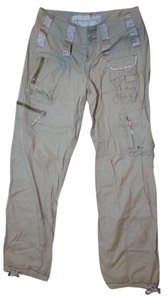 Abercrombie & Fitch Casual Size 2 Carpenter Pants beige