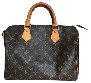 Louis Vuitton Speedy Speedy 30 Leather Satchel in Monogram