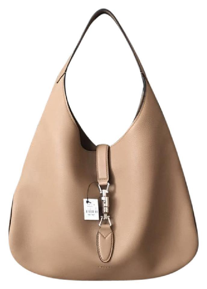 6900ddee169c5 Gucci Jackie With Promo Soft Camel Leather Hobo Bag - Tradesy