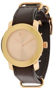 Movado Movado Bold Leather Unisex Watch 3600364