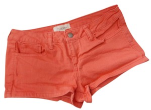 Forever 21 21 Stretch Size 28 Mini/Short Shorts Coral
