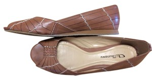 CL by Laundry Natural tan Flats