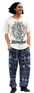 Other Hippie Tribal The Treasured Hippie Handmade Men's Clothing T Shirt White