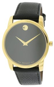 Movado Movado Museum Classic Leather Mens Watch 0607014