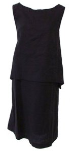 J. Jill short dress Black Shift Loose Comfortable Sleeveless on Tradesy