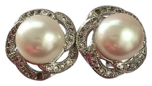 Other Freshwater pearl stud earrings 925 sterling silver