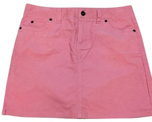Vineyard Vines Corduroy Skirt Pink