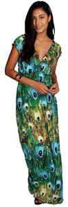 Green Maxi Dress by Private brand