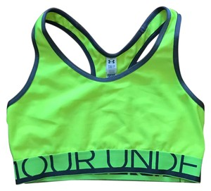 Under Armour Neon Yellow Banded Sports Bra