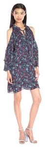 Parker short dress Dewberry / Blue Floral Cold Cold on Tradesy