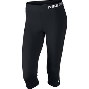 Nike Black Pro Training Cropped Capri Leggings