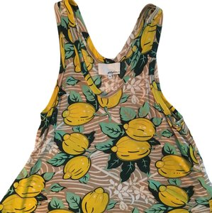 3.1 Phillip Lim Top Green, Yellow, Tan, Pattern