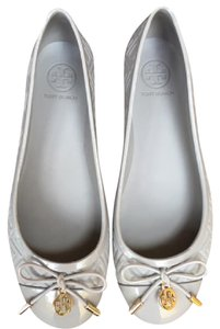 Tory Burch soft gray Flats