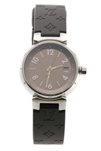 Louis Vuitton Louis Vuitton Stainless Steel Tambour 28mm Women's Watch