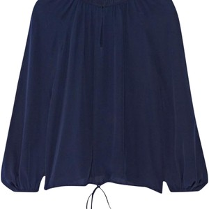 Diane von Furstenberg Top Navy Blue