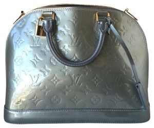 Louis Vuitton Vernis Monogram Top Handle Iconic Patent Satchel
