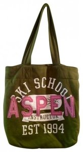 Old Navy Tote in Green and Pink