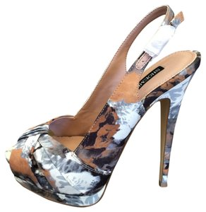 Shoemint Floral Summer Multi-color Pumps