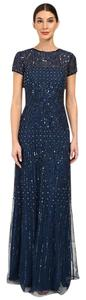 Adrianna Papell Embellished Beaded Prom Dress
