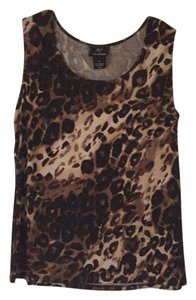 Chadwicks Animal Print Top multi