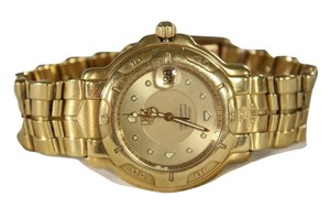 TAG Heuer TAG HEUER $42,000 MEN'S 18K YELLOW GOLD SERIES 6000 TIMEPIECE WATCH
