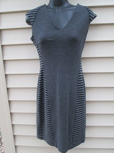 Calvin Klein Striped Sheath Bodycon Xs Clubwear Dress