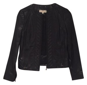 Tory Burch black Leather Jacket