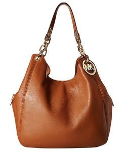 Michael Kors 30h3gfte3l Mk Cognac Shoulder Bag