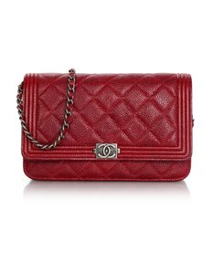 Chanel Woc Wallet On Chain Boy Boy Woc Cross Body Bag