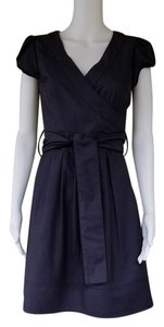 Emmelee short dress Gray Faux Tie Belt on Tradesy