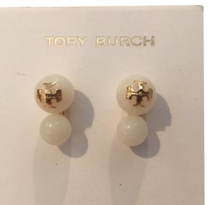 Tory Burch evie double stud earrings